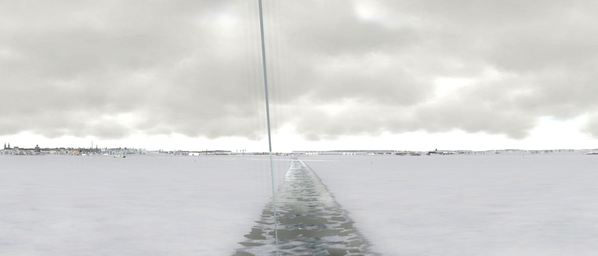 IS Komentosiltasimulaattori arktisiin olosuhteisiin