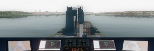 Certified DNV GL Class A fullmission bridge simulator maritime training